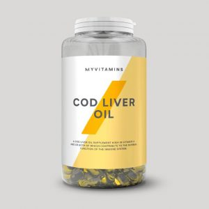 Myprotein CodLiver Oil Softgels