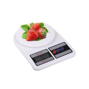 Generic 10kg LCD Digital Electronic Kitchen Food Diet Scale Weight Balance - White