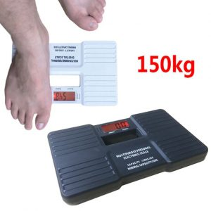Generic 150KG 0.1kg Digital Personal Scales Precision Electronic Bathroom Human Body Floor Scale Portable Body Health Weighing Balance