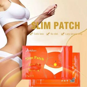 Fulljion Abdominal Slimming Navel Paste Lose Weight Slim Patch Loss Sticker 10 Patches