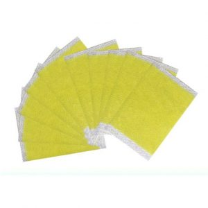 Generic 10PCS/Bag Sleeping Fat Burning Sticker Slimming Plaster Skinny Waist Patch-yellow